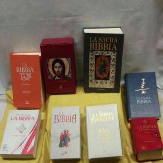 BIBBIE e LIBRI varie Case editrici